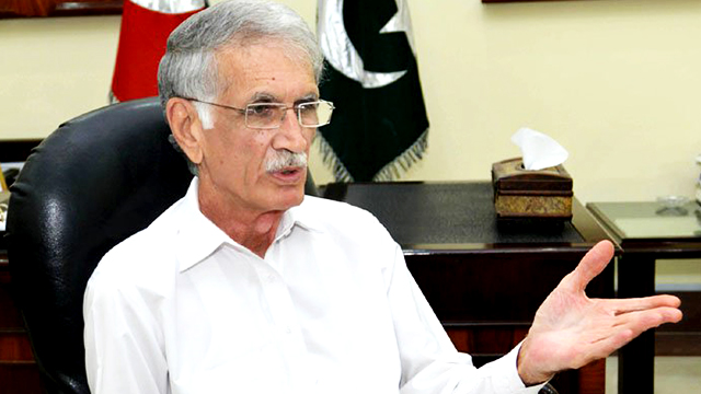 ECP Facilitated PML-N's Victory in PK-63 By-Election: Pervaiz Khattak