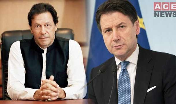 PM Imran Khan Discussed Kashmir Issue with His Italian Counterpart