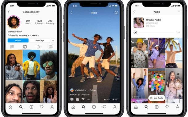 Instagram Makes it Easier to Find their TikTok Like Reels