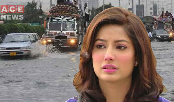 Mehwish Hayat angered over Karachi situation as rain hits port city