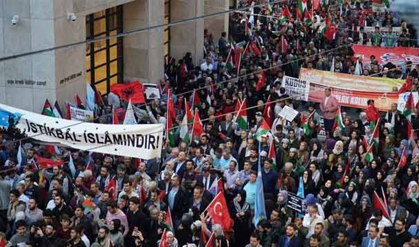 Palestinians Conducted Rally as Global Opposition to Israeli Annexation Grows