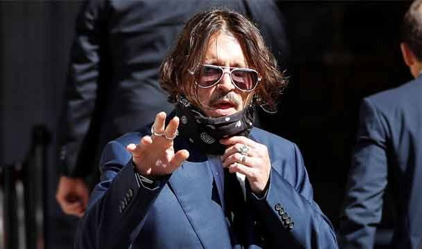 Johnny Depp Rejects Wife-Beater Claim in London Libel Trial
