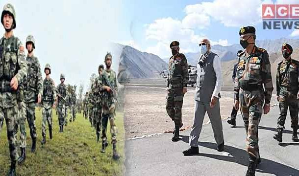 Modi Visits Himalayan Border where Chinese-Indian Troops Clashed