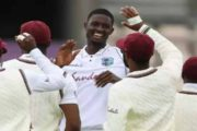 Jason Holder and Shannon Gabriel Put West Indies in Control against England