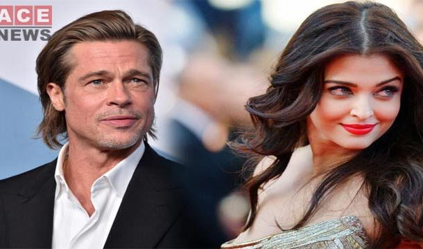 Brad Pitt has Confessed he Wants to Work in a Bollywood Film with Aishwarya Rai