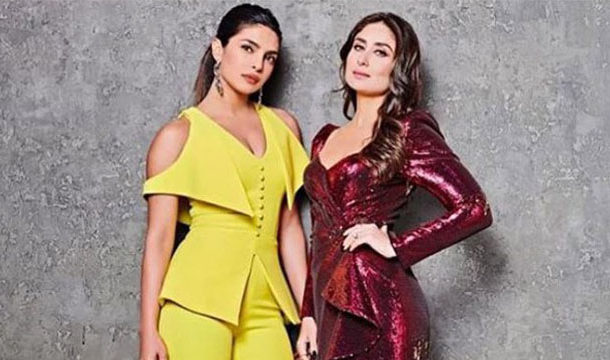 Kareena Kapoor sends Hugs from Across the Globe to Priyanka Chopra on her Birthday