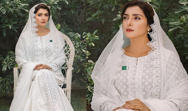 Charming Pictures of Aiza Khan Inspired by Fatima Jinnah