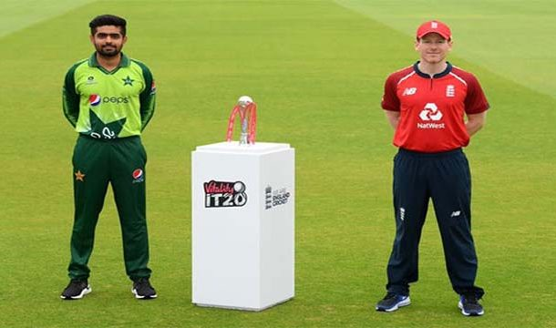 The First T20 Between Pakistan and England Ended in a Draw
