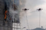 China has  Developed  Fire-Fighting Drone