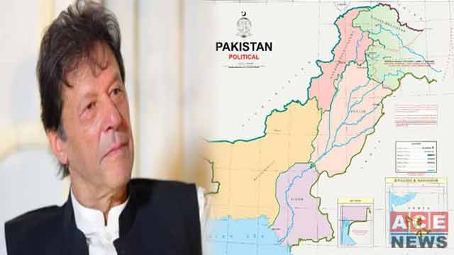 New Political Map of Pakistan Issued