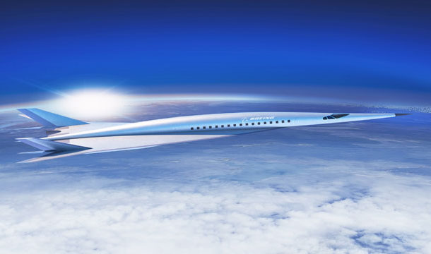 Sonic jet Travels At a Speed of Five and a Half Thousand Kilometers Per Hour