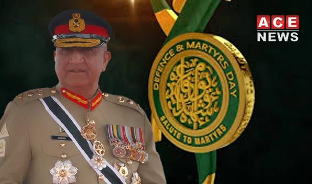 COAS Lays Floral Wreath at Martyrs Monument on Defense Day