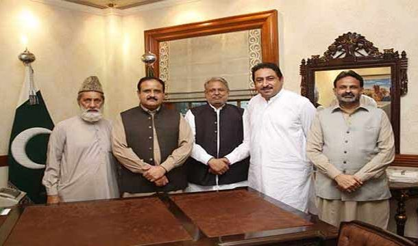 Discontented PML-N MPAs Met with CM Buzdar