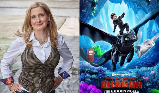 How to Train Your Dragon Author Cressida Cowell: I  Trust dragons are existed