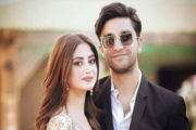 PDA-Filled Photo of Sajal Ali With Ahad Raza Mir Wins Hearts