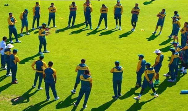 Corona Testing of cricketers Begins in the Shadow of Fear
