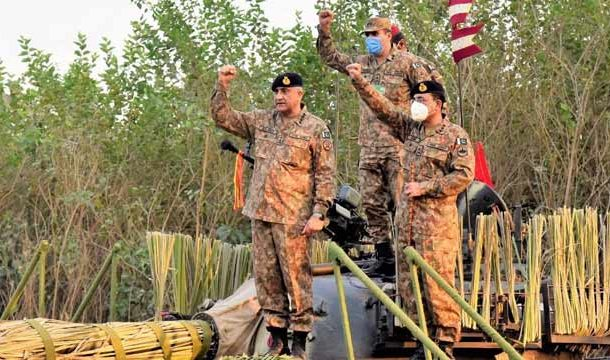 Army Chief Expresses Satisfaction over Combat Readiness of Troops 'Taskheer-e-Jabal': ISPR