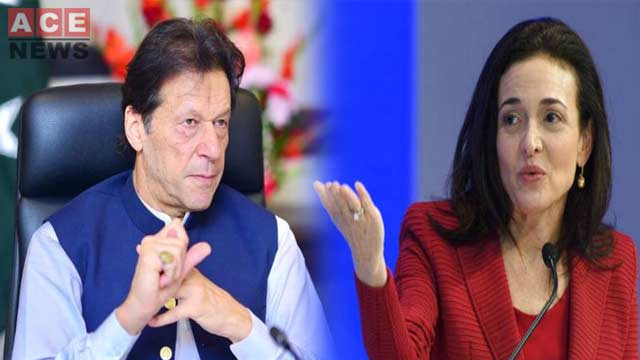 PM Imran & Facebook COO Discuss Investment Programmes