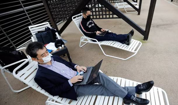 Japan`s Theme Park Becomes New Office for Teleworkers
