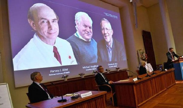 The Sceintists Who Discover Heapatitus C Virus Win Nobel Prize