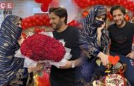Shahid Afridi Celebrates His 20th Wedding Anniversary