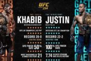 UFC 254: Khabib Nurmagomedov Knocked Down Justin Gaethje and Announced Retirement