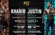 UFC 254: Khabib Nurmagomedov all Set to face Justin Gaethje
