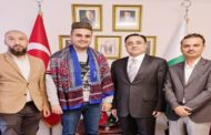 Famed Turkish Chef, Burak Ozdemir Arrives in Pakistan