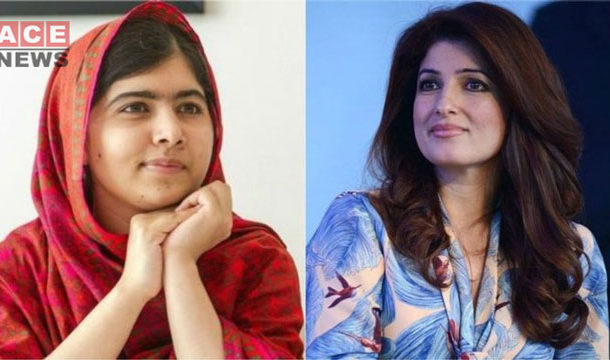 During a Virtual Chat, Twinkle Khanna Breaks Down with Malala Yousafzai
