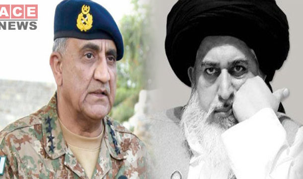COAS Bajwa Express Greif on the Sad Demise of Khadim Hussain Rizvi