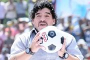 Soccer Legend of Argentina Maradona Dies of Heart Attack