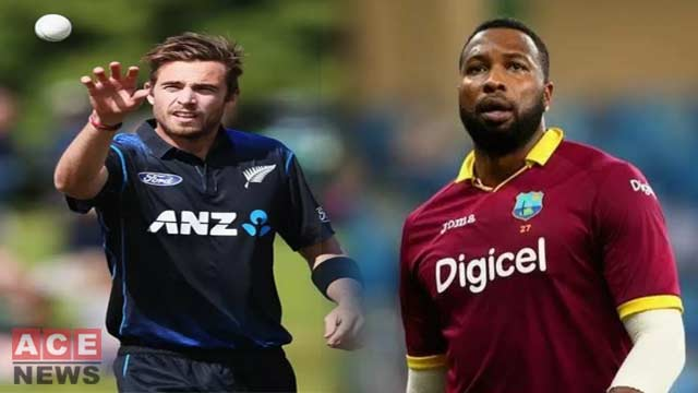 New Zealand Beat West Indies by 5 Wickets in 1st T20I