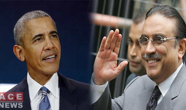 "Zardari called Killing of Osama-Bin-Laden ""Good News"": Obama"