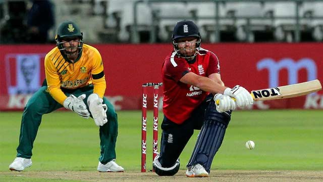 England Wins 1st T20I against South Africa