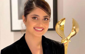 Winning the DIAFA Award, Sajal Ali Gets love From Supporters and Fellow Stars