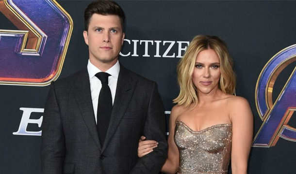 Scarlett Johansson's First Stunning Appearance after Marriage with Colin Jost