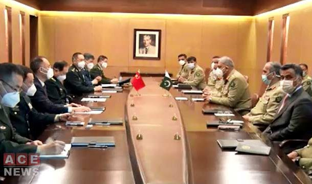 Defence Minister of China Calls on COAS Qamar Javed Bajwa: ISPR