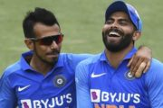Chahal Replaced Jadeja as 'Concussion Substitute' in 1st T20I