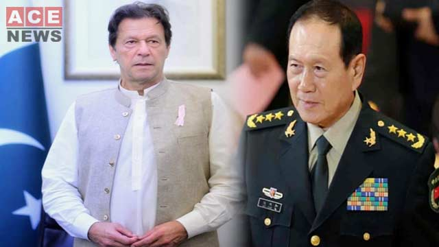 Chinese Defence Minister Called on PM Imran Khan
