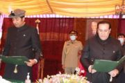 Khalid Khursheed Sworn in as New CM Gilgit-Baltistan