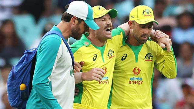 Injured Warner Ruled Out of 3rd ODI, T20I Series against India