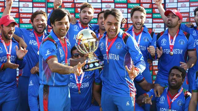 Afghanistan Whitewashed Ireland in 3 Match ODI Series