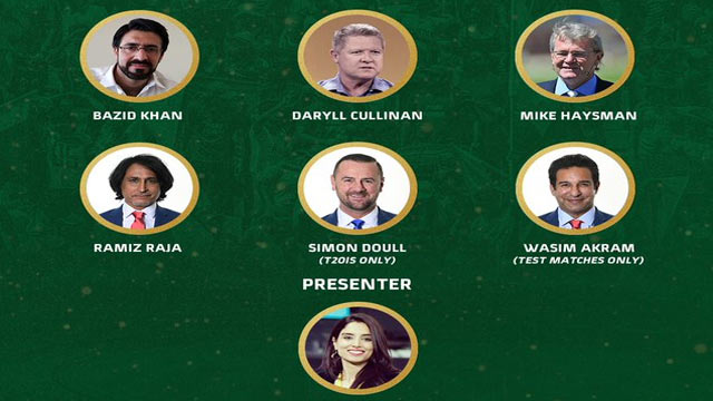 PAKvSA: Commentary Panel for Test-T20I Series Announced