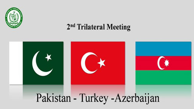 Pakistan, Turkey and Azerbaijan's 2nd Trilateral Meeting to Held Today