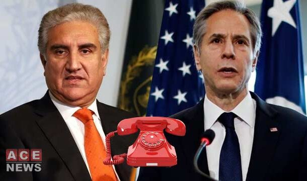 FM Qureshi Held a Telephonic Talk with His US Counterpart