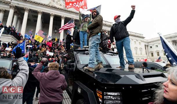 Trump Supporters Storm US Capitol, Forcing to Halt Congress Session