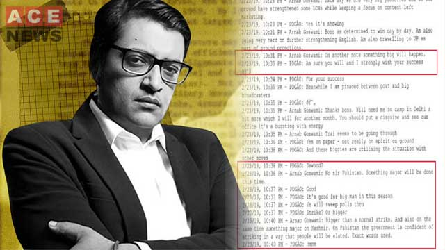 India Exposed as Arnab Goswami's WhatsApp Chat Reveals Planned Pulwama Incident
