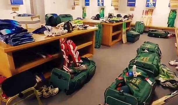 PCB Shared Pakistan's Dressing Room Video