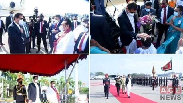 PM Imran Pleased by Hospitality of Lankan Prime Minister