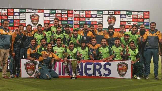 Pakistan Won Series by Defeating South Afirica in 4th T20I